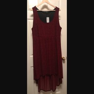 NWT Torrid size 3 hi-low tank leopard print dress